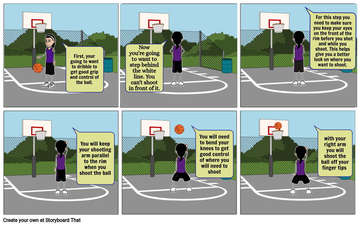 How to shoot a free throw