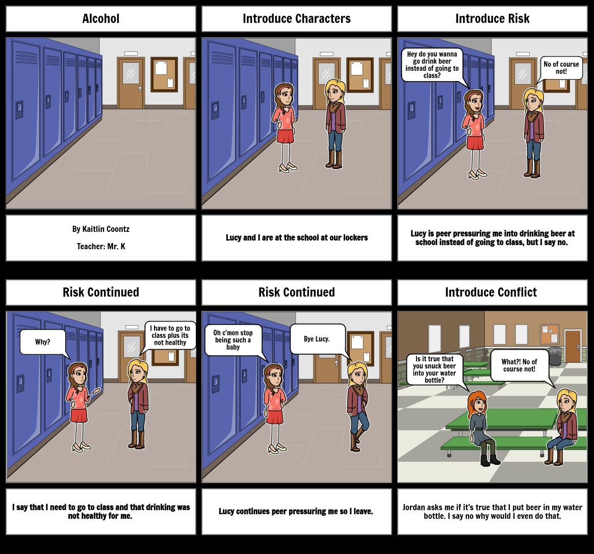 Health Class Storyboard