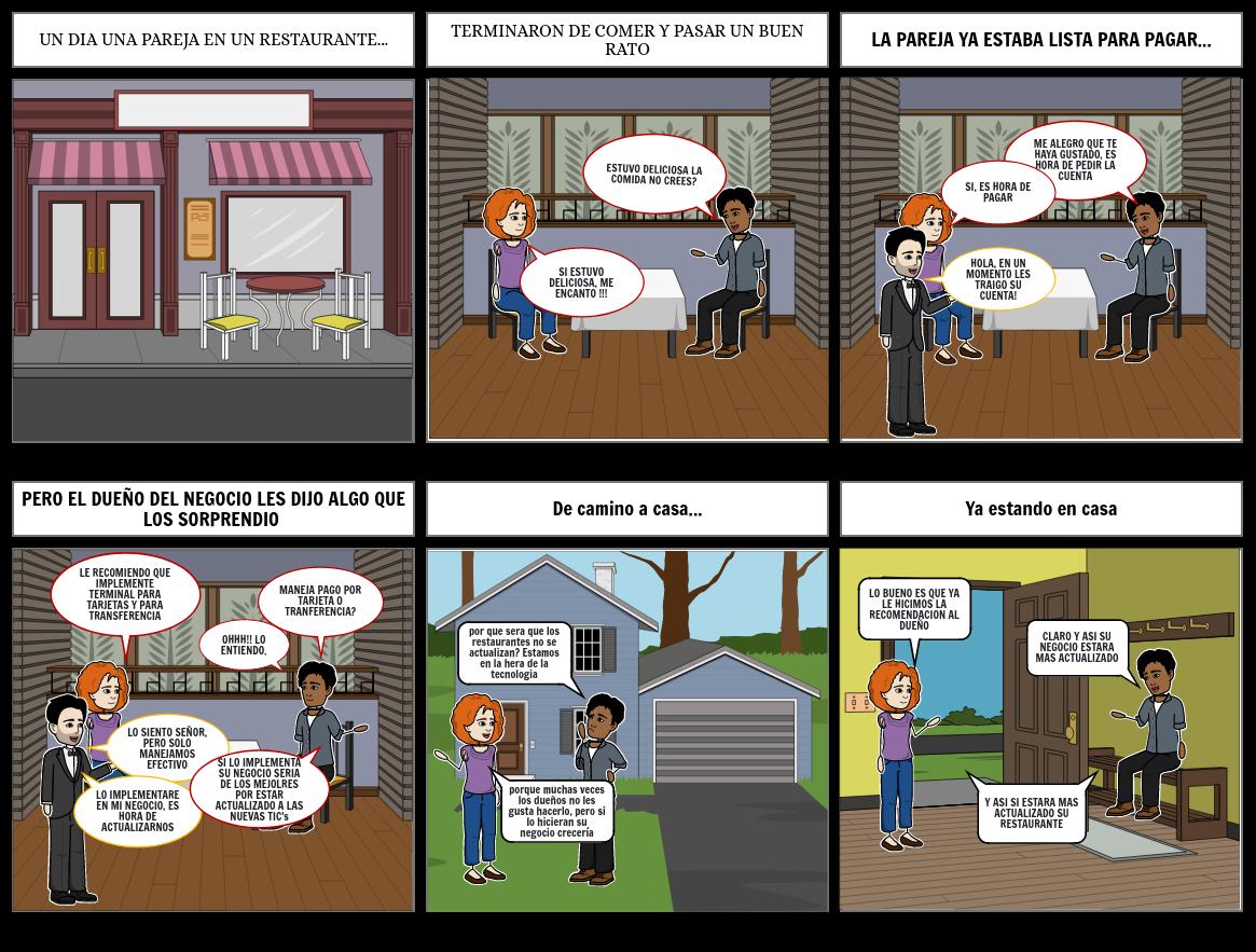 Historieta de geografía económica