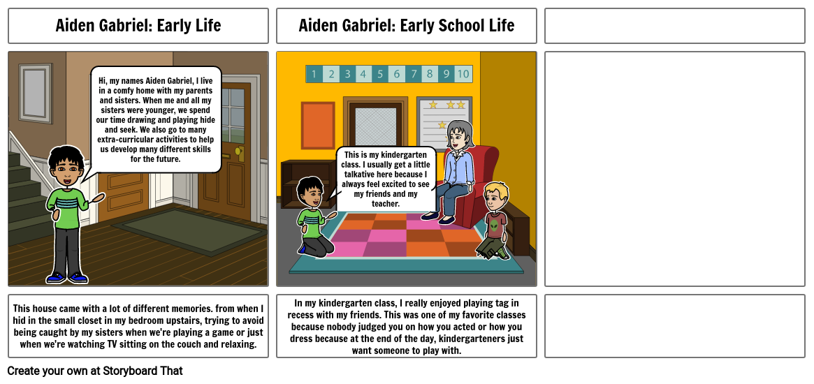 Aiden Gabriel: Early Life