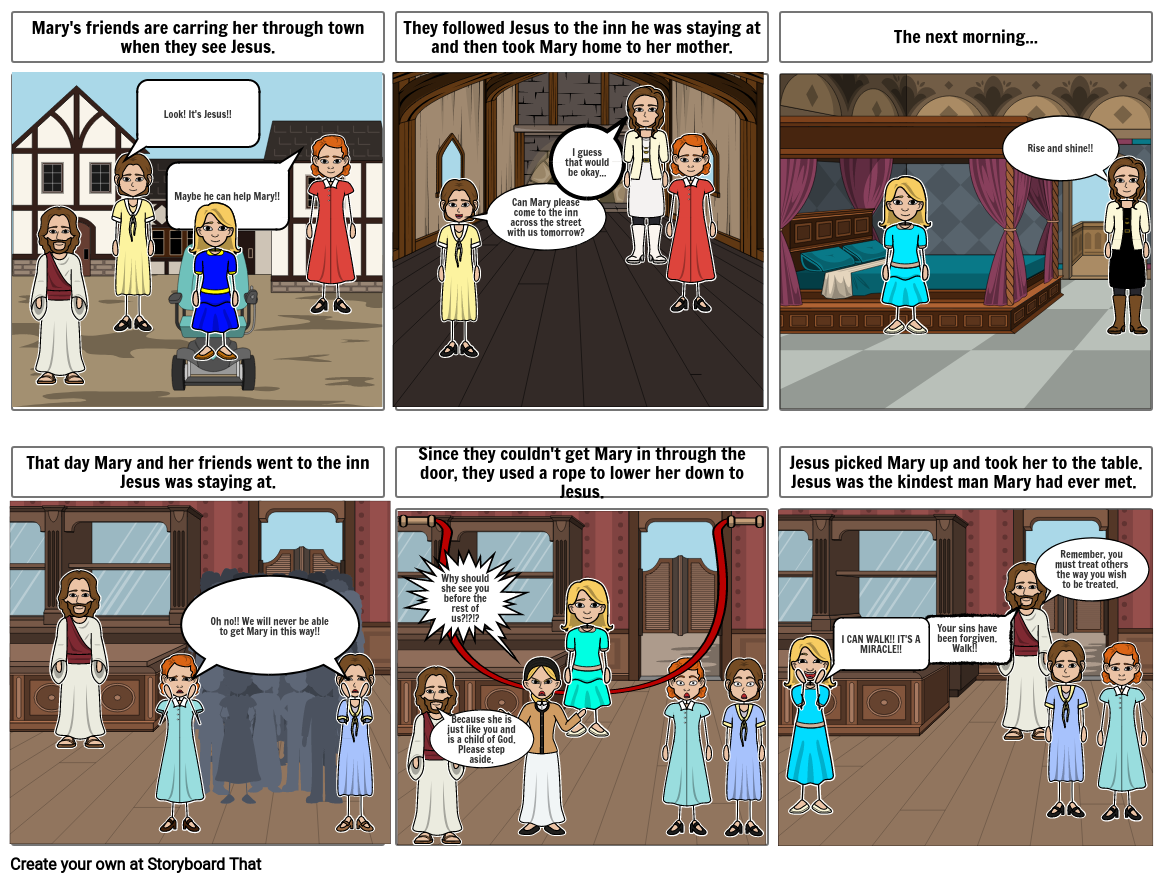 Religion Storyboard