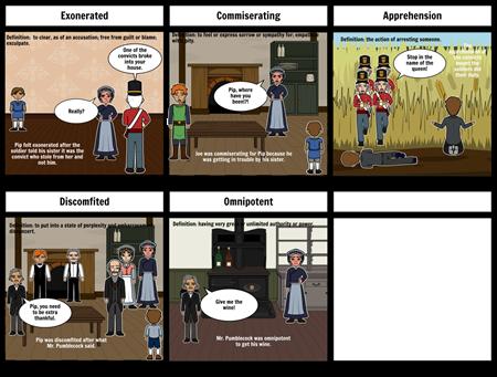 Great Exspectations Vocabulary