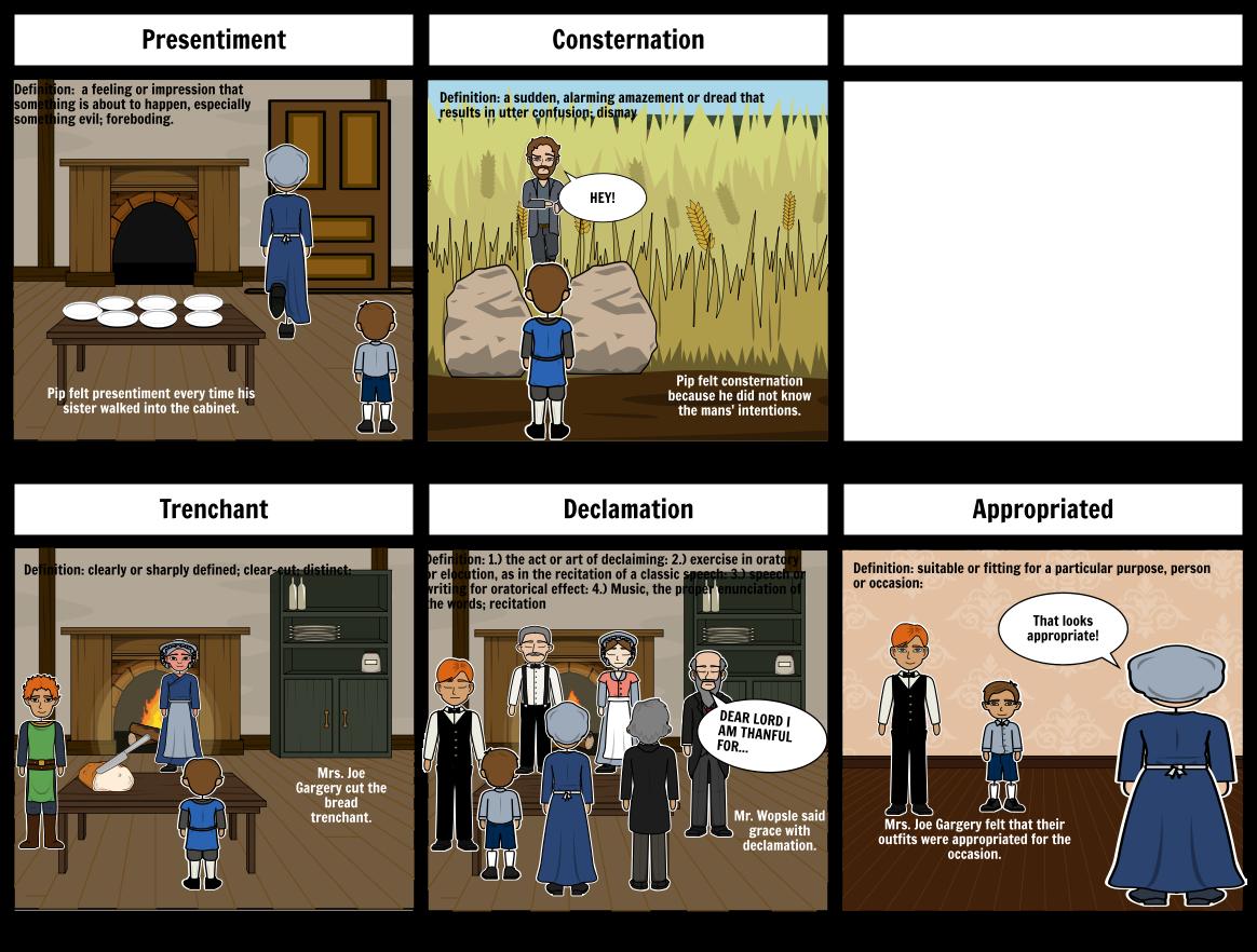Vocabulary Expectations