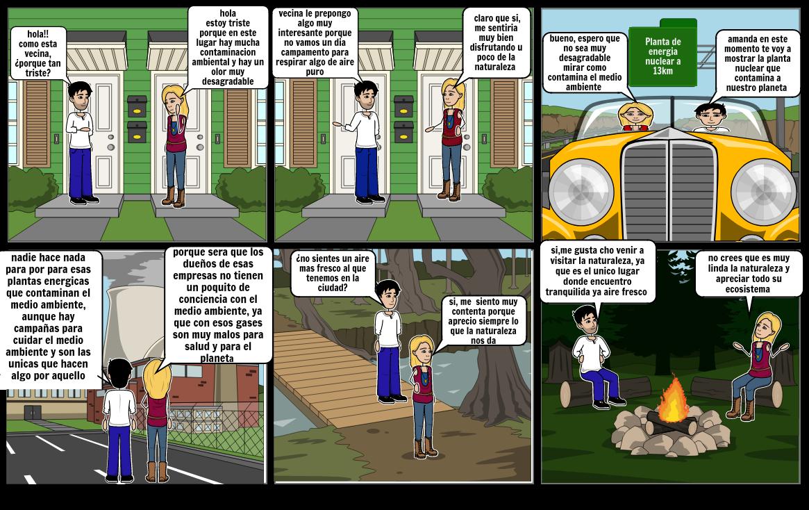 historieta medio ambiente