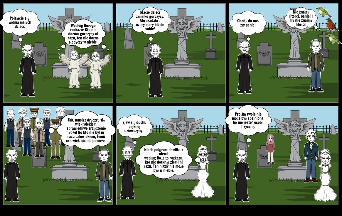 dziady komiks