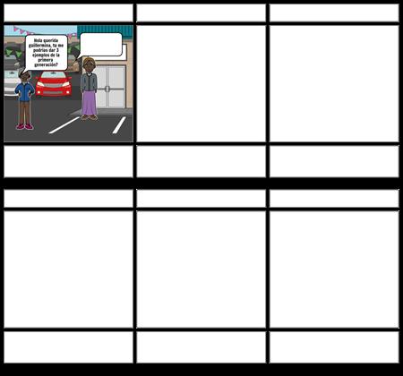 storyboard sociales