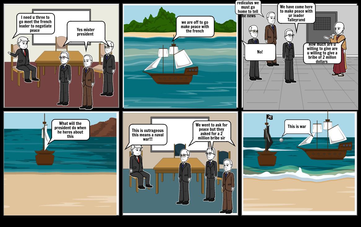 xyz affair comic strip