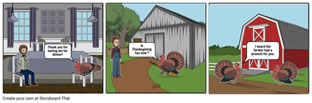 turkey storyboard