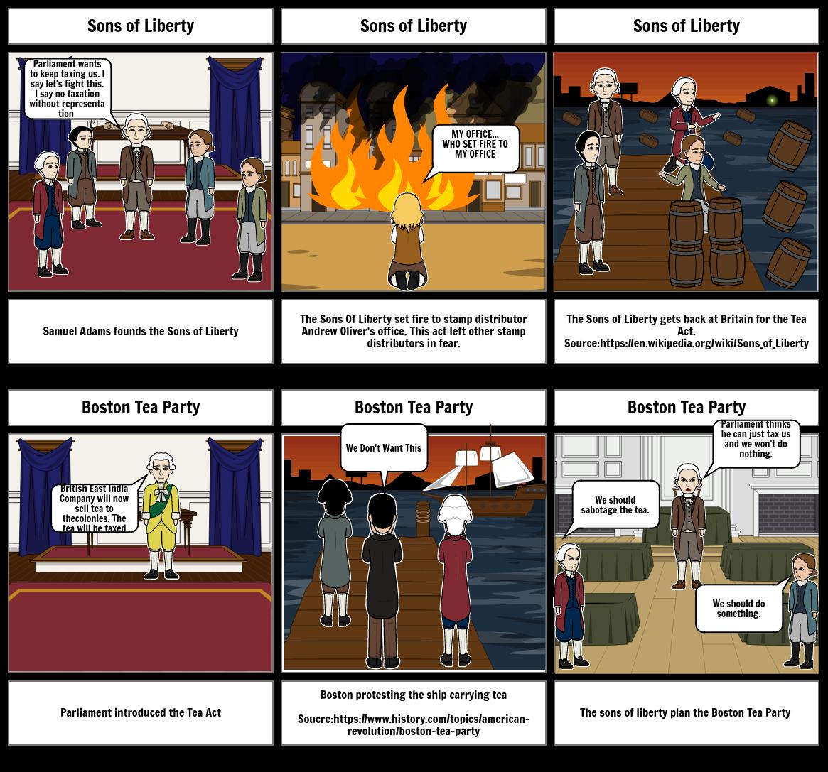 History Storyboard 2
