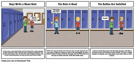 Week 1 - Pages 1-51 of Auggie and Me by R.J. Palacio