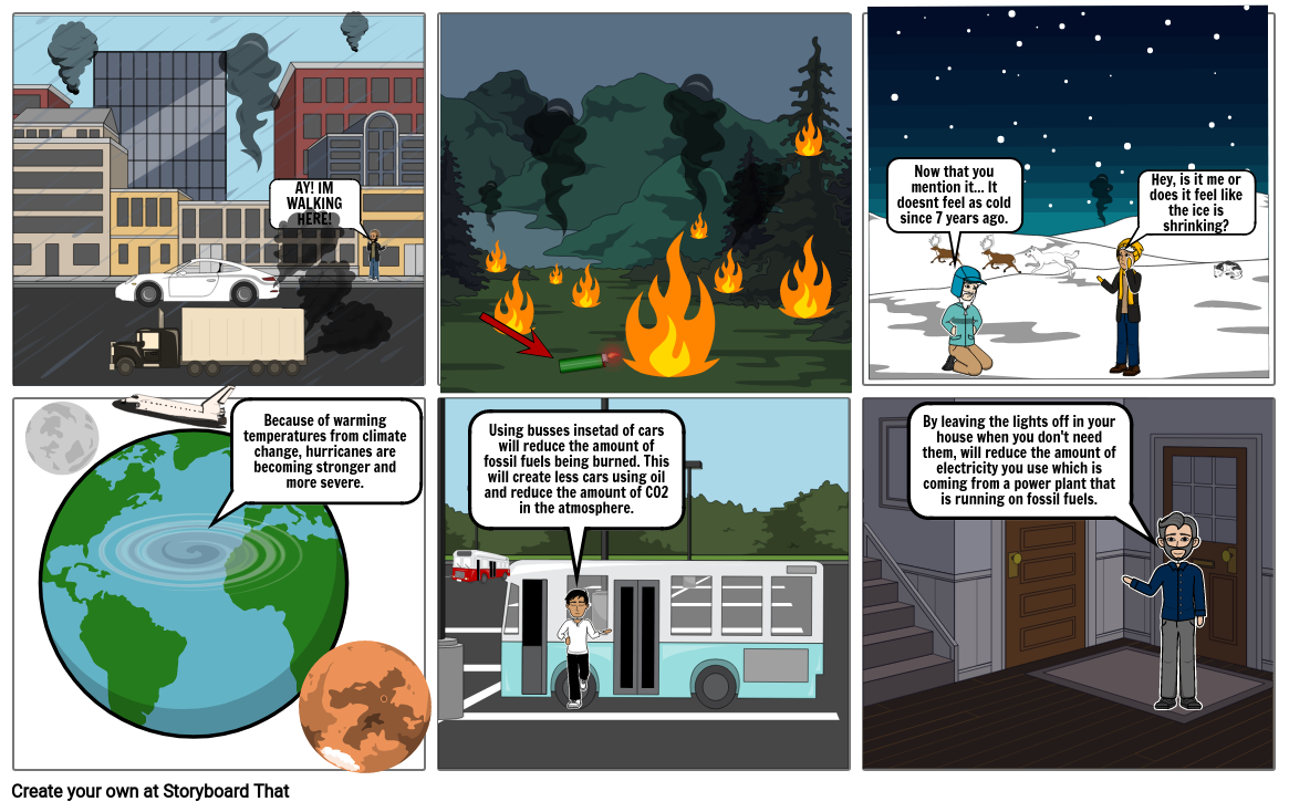 Comic science pollution thingy