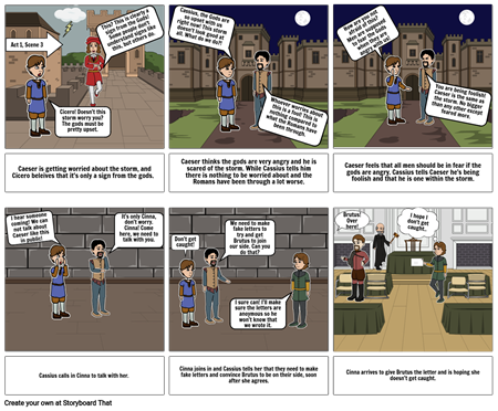 Project Julius Caeser- Act 1, Scene 3 KH