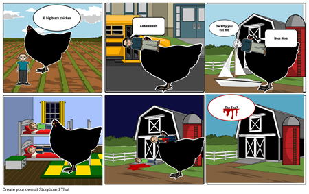 Killer Giant Black Chicken