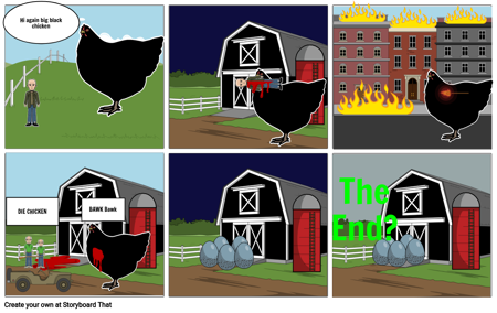 Killer Big Black Chicken 2