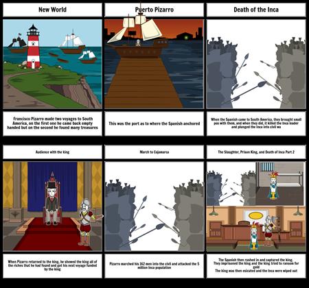 Inca Storyboard