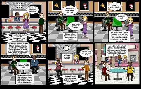 Moe's Cafe Story #1