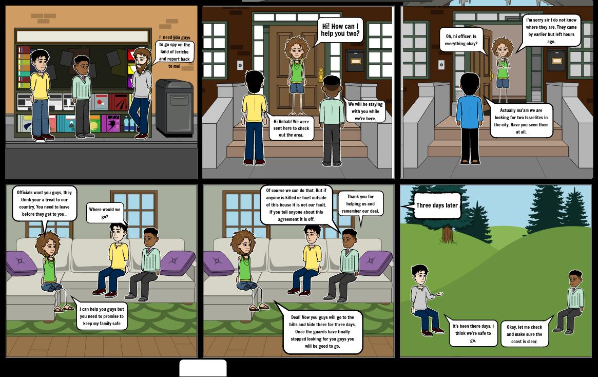 Joseph 2 comic strip. Pt 1