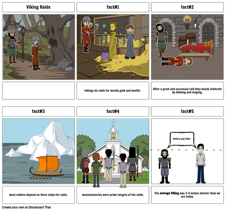 viking storyboard