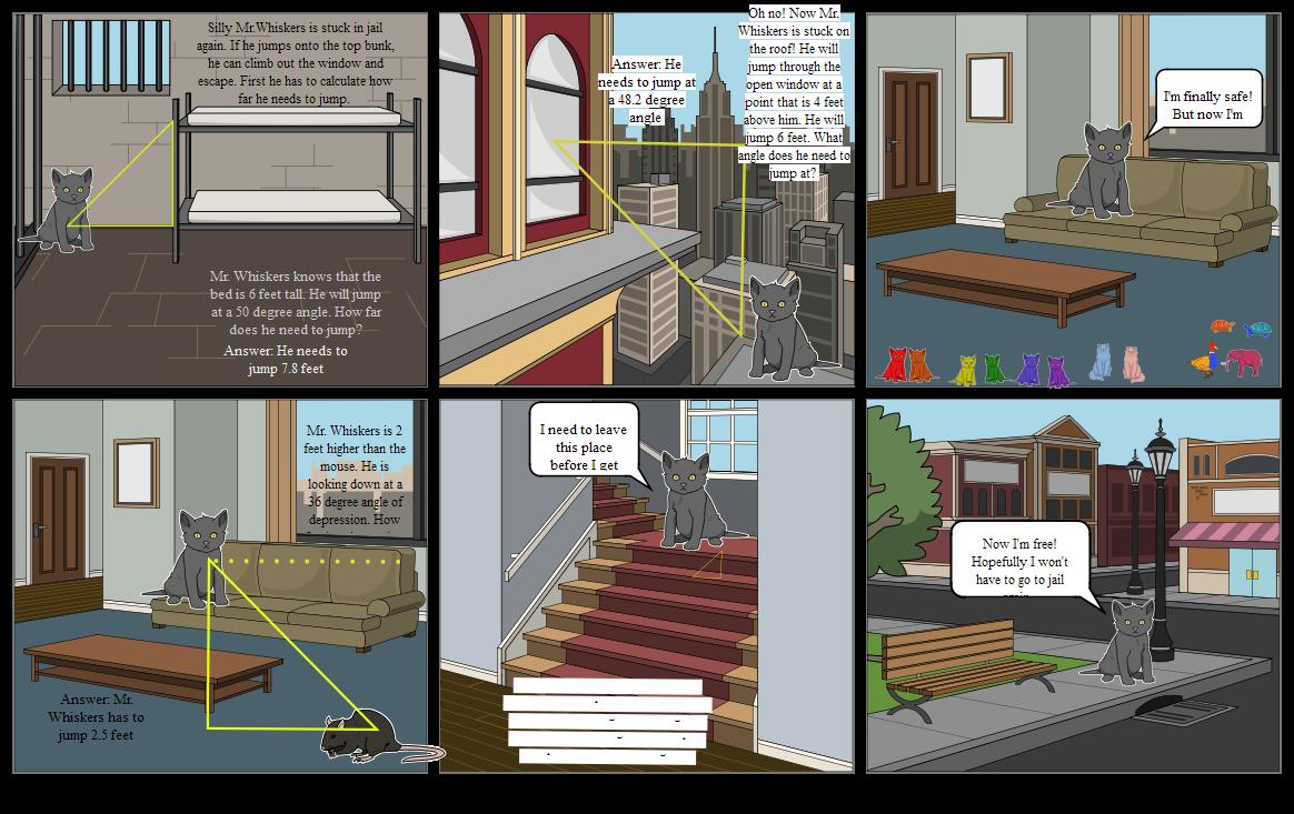 Morgan's Comic Strip Project