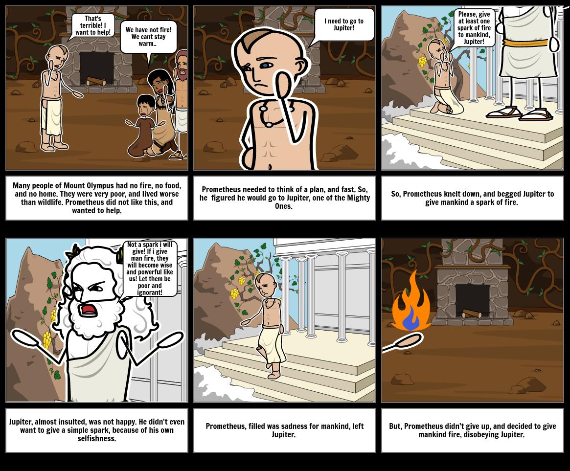 Prometheus gives Life