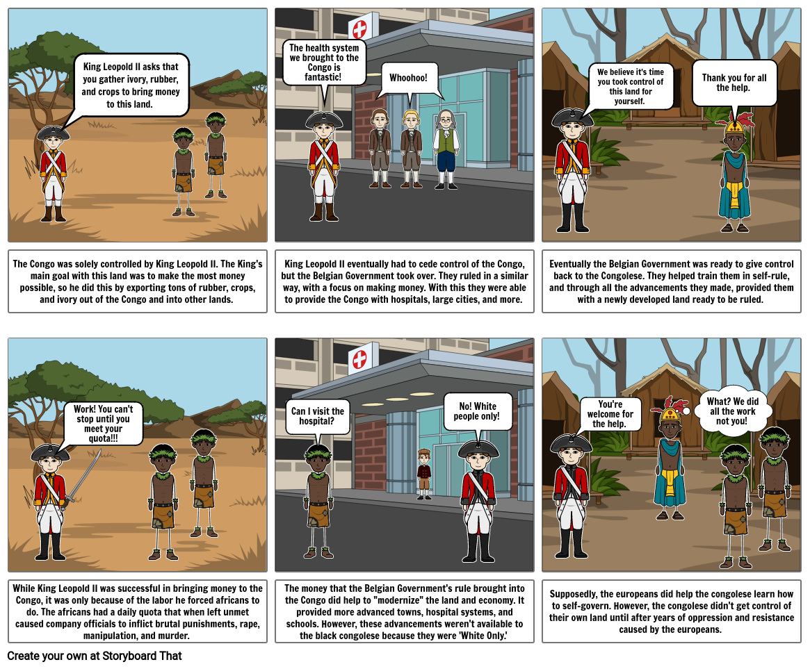 African Case Study Comic - Gabby Ros