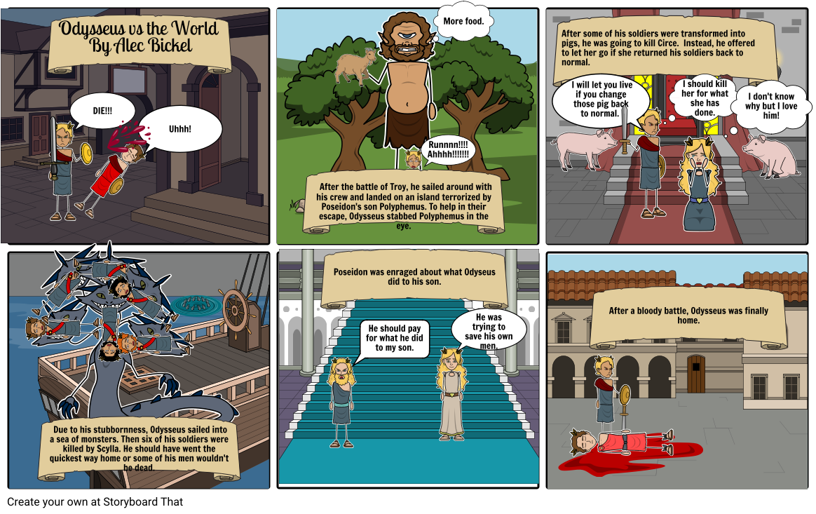 Odysseus vs the World