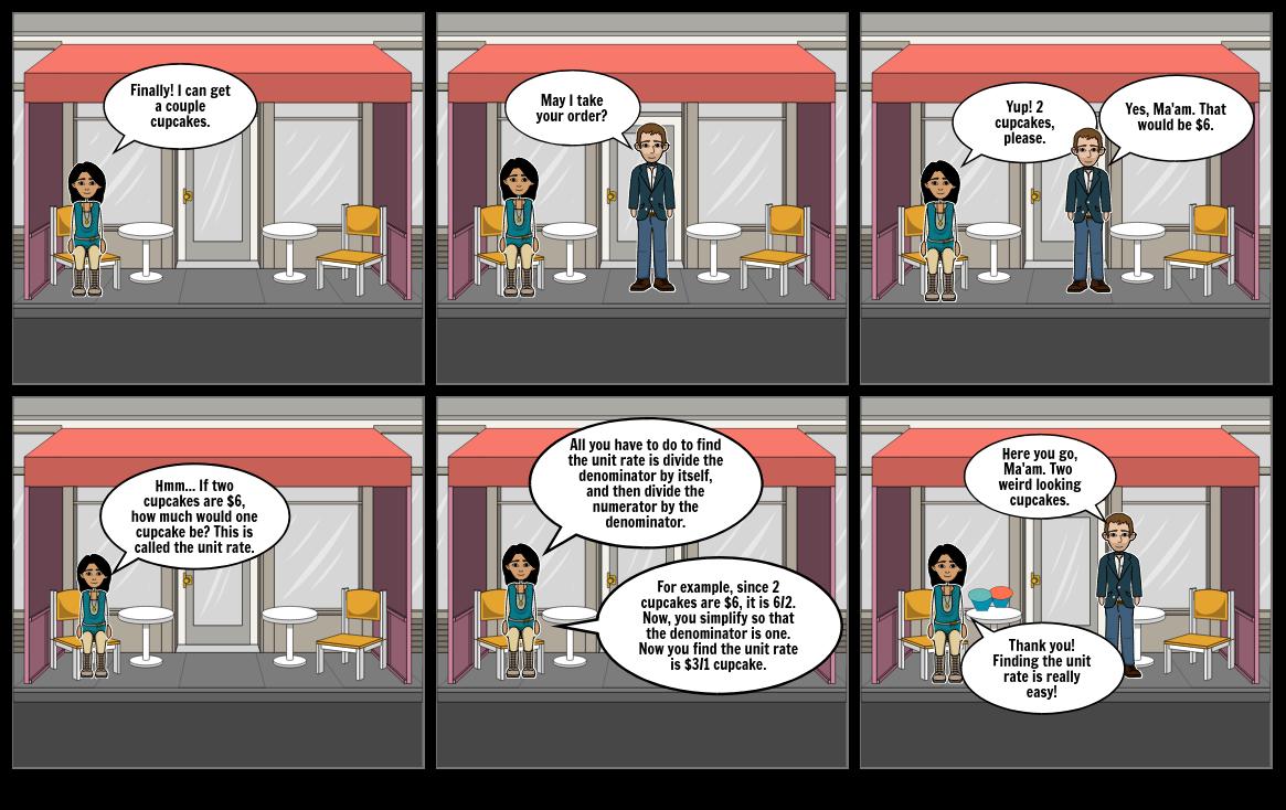 Math Comic Strip