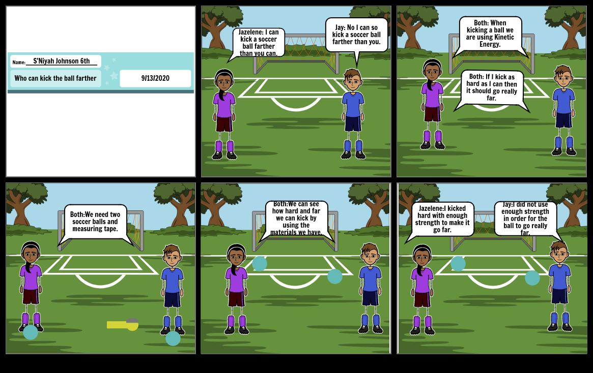 Who can kick a ball farthest