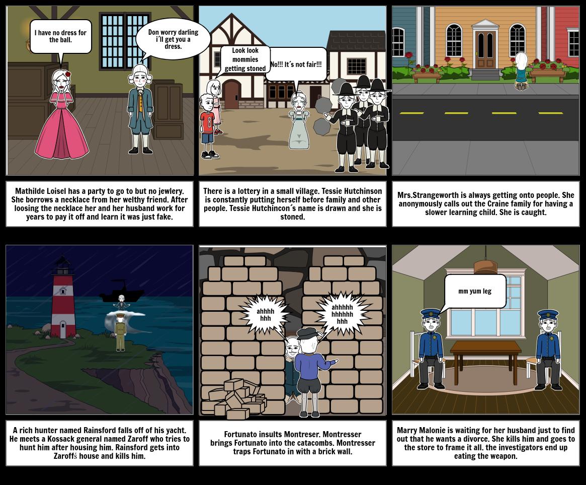 5th hour, Elias Petit, story board 2