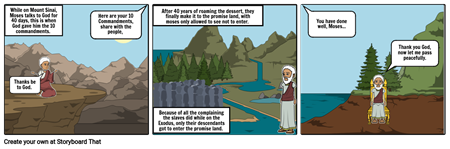 2nd moses story