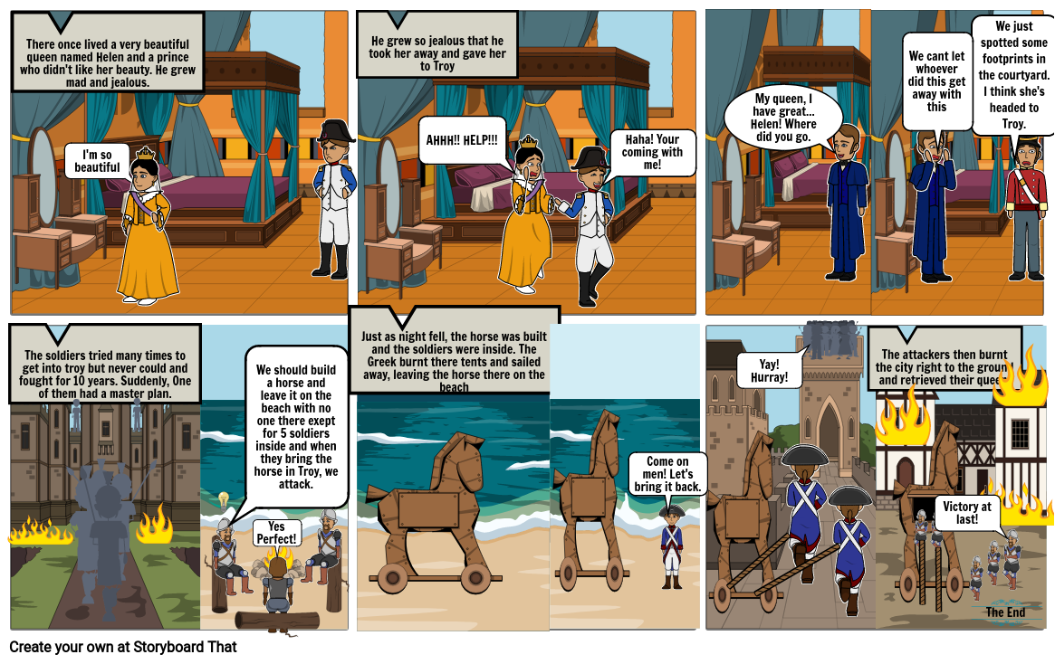 The Trojan War Social Studies 6