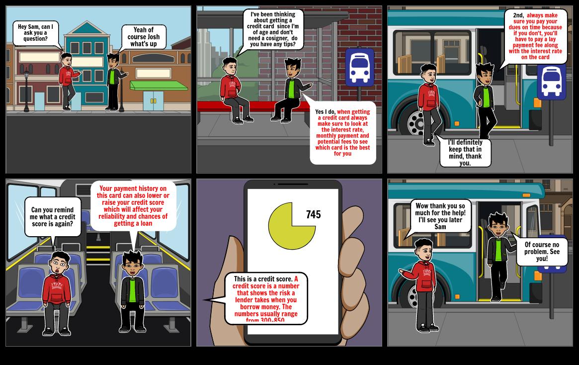 Fin Lit Comic Strip