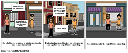 story board part two