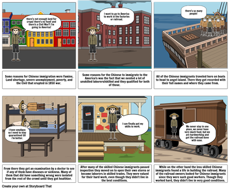 Immigration storyboard
