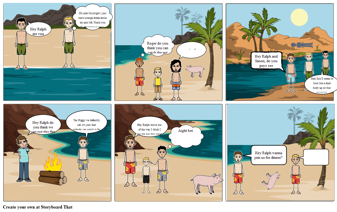 Lord of the Flies Chapter 7-8