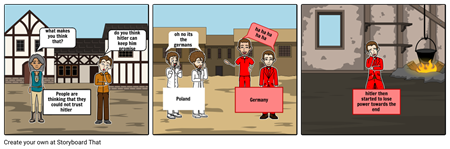 Using StoryboardThat to Summarize text