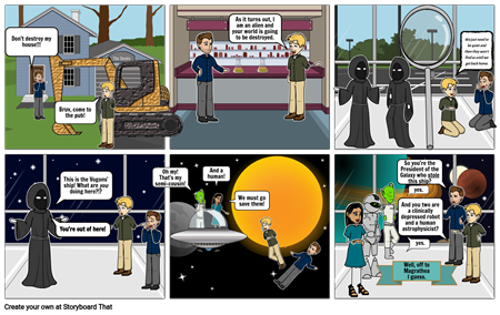 Hitchhiker's Guide Comic