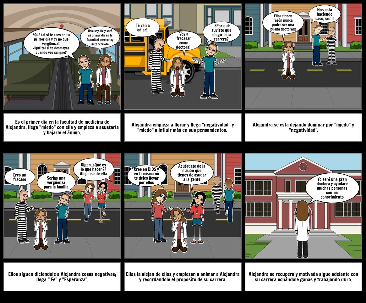 Historieta Habilidades Socioemocionales