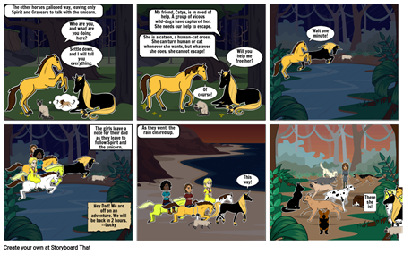 Spirit and Lucky go on an adventure Chapter 3