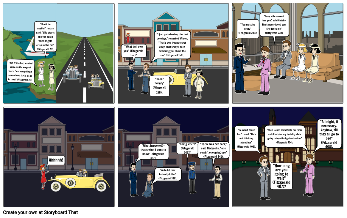 Story Board Scene