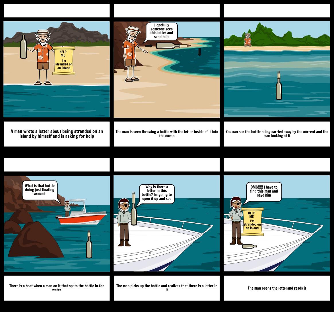 StoryBoard Stranded