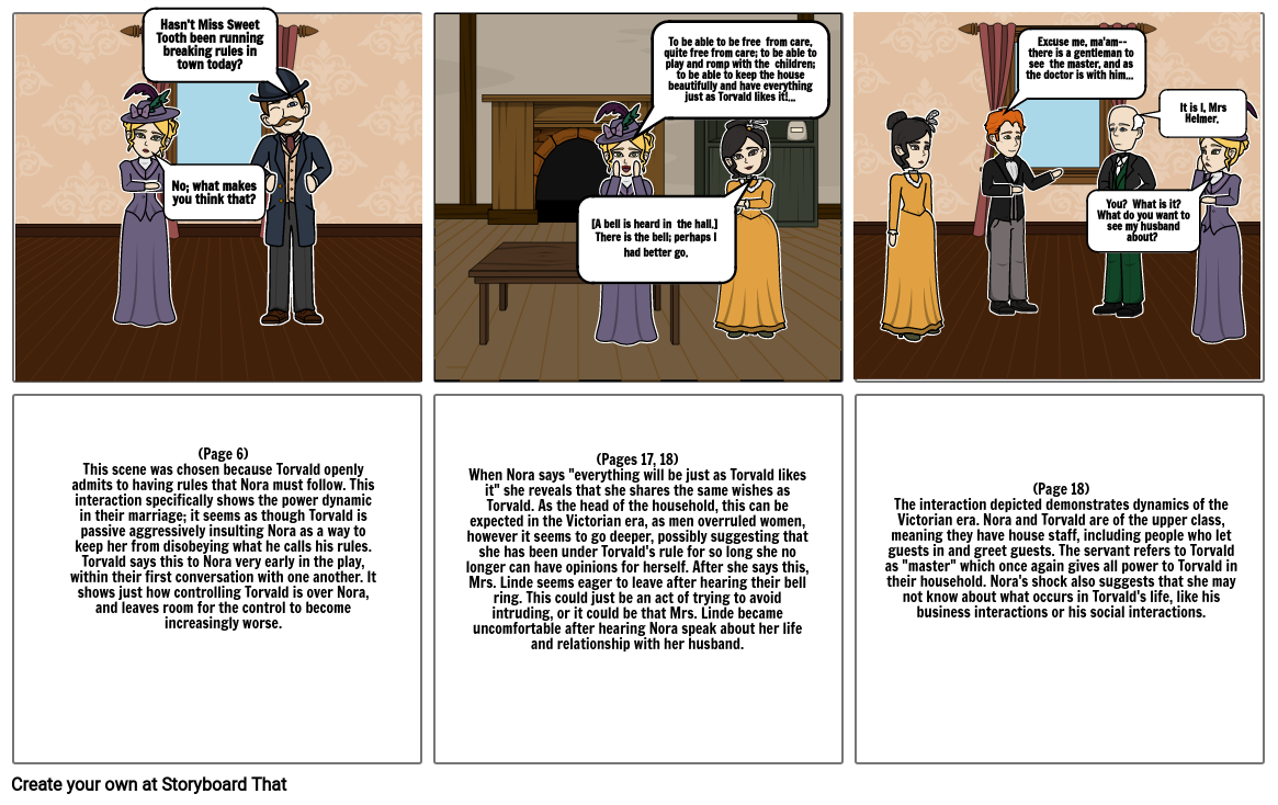 A doll's house Part 1
