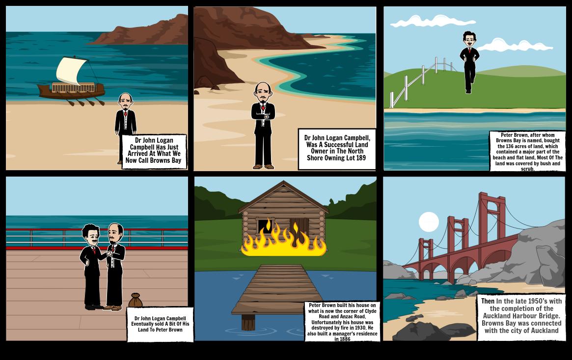 Browns Bay History