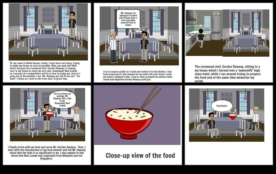 English Storyboard