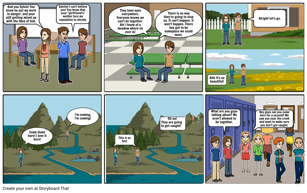 Narrative Storyboard