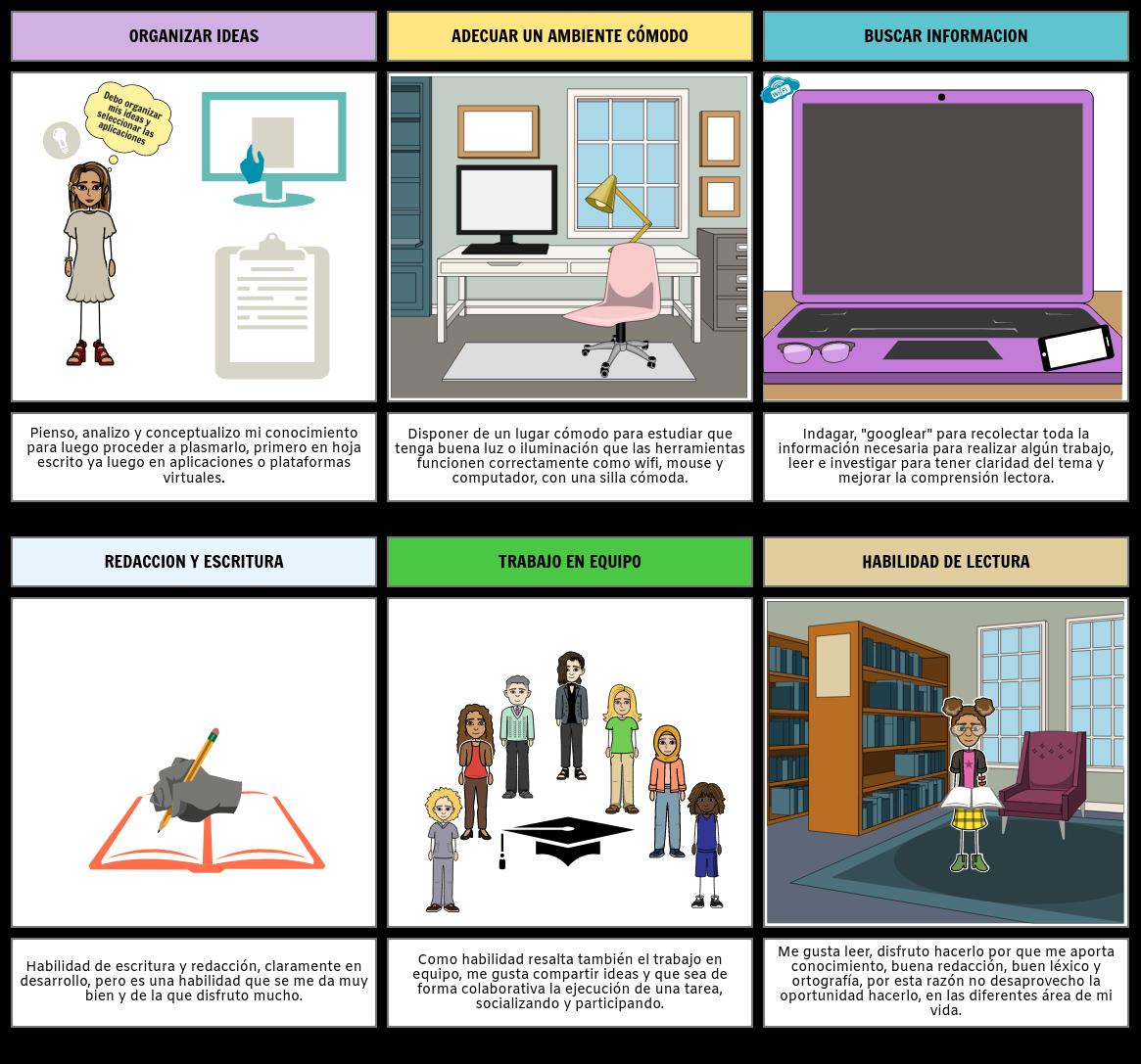 guion aprendizaje autonomo