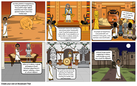 Midterm Review Storyboard (Ancient World #1)