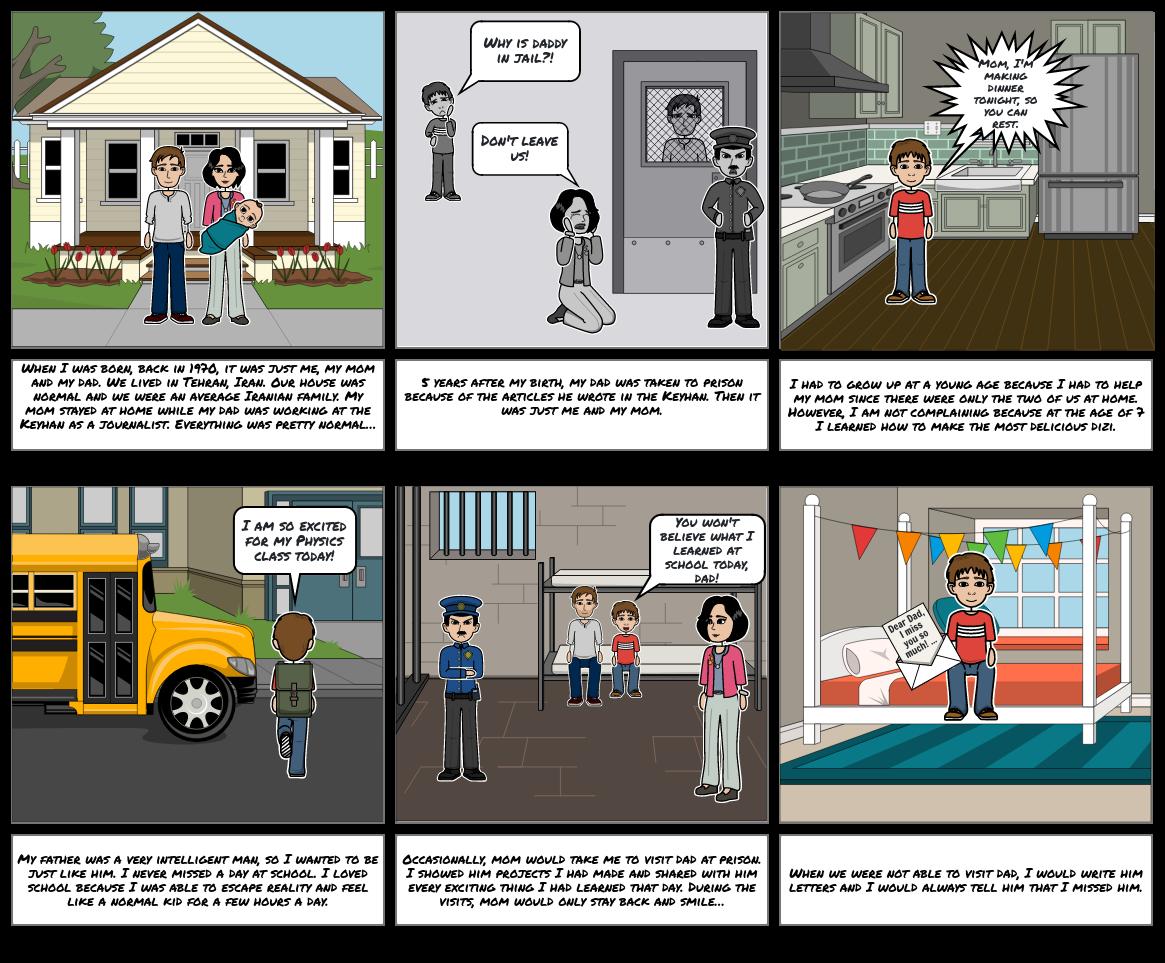 Toni's Graphic Novel