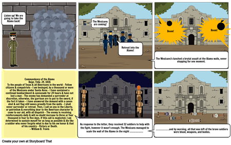 Siege/Battle of the Alamo