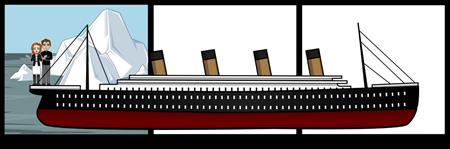 Salina and Heather- Titanic